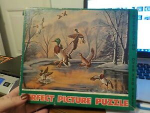 VINTAGE PERFECT PICTURE PUZZLE 350 PCS- LEAVING WINTER BEHIND