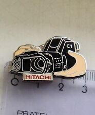 Hitachi camera official badge crest pin anstecknadel
