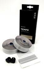 Fizik Tempo Classic Road Bike Bar Tape Microtex Bondcush 3mm, Silver