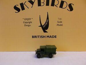 Skybirds Models. Bedford 15 cwt Truck. Steel cab with doors.