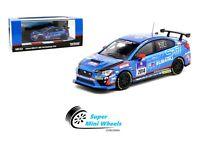 Tarmac Works 1:64 Subaru WRX STI NBR 24H Challenge 2014 (Blue)