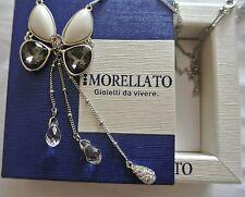 """Collana Morellato donna """"VOLARE"""" pendente farfalla con cristalli sox27"""
