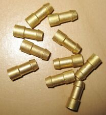 100 x Brass Bullet Connector Crimp Connectors Auto Electric Terminals  WT72