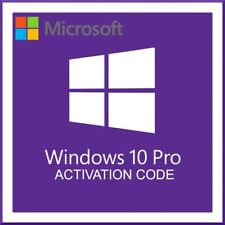 Win 10 Pro 32/64 bit License Key Lifetime Activation