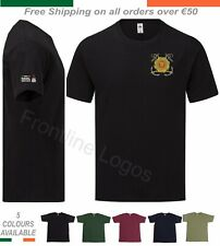 Irish Naval Service T Shirt With Embroidered Insignia Available In 5 New Colours