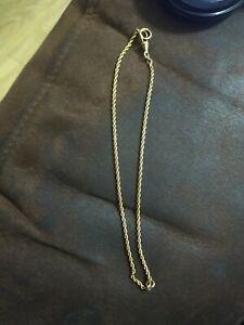 14 K  gold necklace Ladies