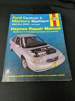 Haynes Repair Manual FORD CONTOUR MERCURY MYSTIQUE 36006 1995 Thru 2000