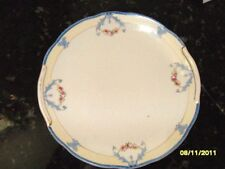 """BEAUTIFUL DECORATIVE PLATE 8-3/4"""" DIA.- NORITAKE BLUE AND WHITE FLORAL PORCELAIN"""
