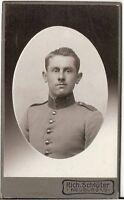 CDV photo Soldat - Neuburg um 1910