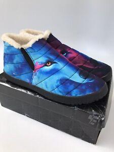 Electro Threads Unisex Plush Winter Slipper Non Skid Mens 10 / Womens 11.5   $89