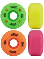 Bones Skateboard Wheels 100's OG Multi Colour 52mm