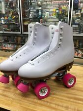 Preowned Chicago CRS 400 White Women S Roller Rink Skates Size 10