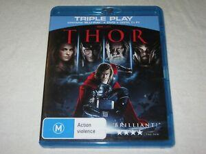 THOR - 2 Disc - Region B - VGC - Blu Ray