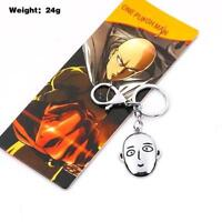 ONE PUNCH MAN Metal Model Keychain Key Ring Pendant Anime Gift