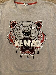 Kenzo Jumper Size L Grey Excellent Condition