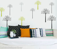 12 Deko Bäume Wandtattoo Wand Design Möbel Aufkleber Raum Deko Wandaufkleber Neu