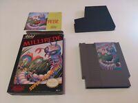 Millipede HAL Nintendo NES video game CIB
