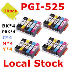 20x PGI525 CLI526 PGI 525 ink Cartridge for Canon MG 5250 6250 8250 8150 MX885