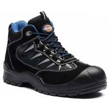 DICKIES STORM 2 SAFETY WORK BOOT TRAINER HIKER STEEL TOE CAP BLACK SIZE 4-12 NEW