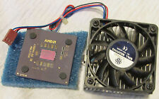 1999 AMD ATHLON AT000AM(T39) Processor ASHHA 0130UPHW w HEAT SINK & FAN -C PICS