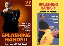 2 Dvd Set Splashing Hands Kung Fu Advanced Power Fighting System James McNeil