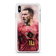 Eden Hazard Bélgica jugador de fútbol número 10 Deportes Atléticos Teléfono Estuche Cubierta
