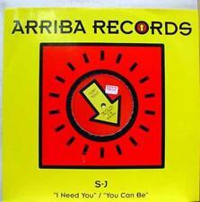 "The Diva S-J - I Need You / You Can Be 12"" Mint- ARRIBA 005 Hard House 2000 UK"