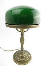 Lámpara de mesa banqueros Hongo Estilo Moderno escritorio antiguo Bruñido