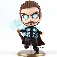 Hot Toys Cosbaby Avengers Infinity War Marvel Toys Thor Fighting Version PVC Bob
