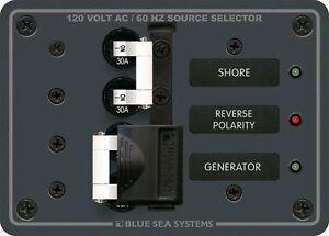 Traditional Metal Panel - 120V AC 30A Toggle Source Selector