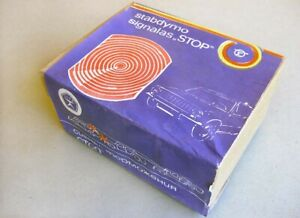 1989 RUSSIA Made in USSR LADA Additional BRAKE LIGHT STOP in Original Box. -NEW-