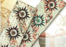 Wrapped in Ribbon paper pieced Table Runner quilt pattern by Judy Niemeyer
