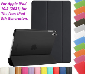 For  Apple iPad 10.2 (2021) 9th Generation A2603, A2604 Magnetic Smart Slim Case