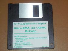 Vintage Ultra DMA-33/APMC Driver Software for VIA Apollo Chipset Windows 95