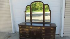 Ethan Allen Georgian Court Dresser Mirror Cherry