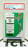 2017-18 Panini Contenders NBA Lottery Ticket Jayson Tatum RC PSA 9 MT Celtics