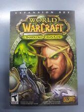 World of Warcraft Burning Crusade Expansion Set PC Game Brand New PC