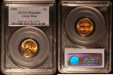 1960-P Lincoln Memorial Cent   PCGS MS66 Red #2679