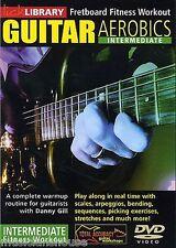 Lick Library Guitar Aerobics intermedios diapasón de entrenamiento de aprender a jugar Dvd