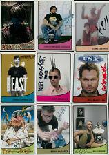 Art Hustle series 1 signed 87 cards Shag, Kozik, Sucklord, Ron English, Huck gee