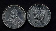 POLAND 50 Zlotych 1982 King Boleslaw III  UNC