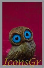 Owl Symbol Of Athena Goddess Of Wisdom Ancient Greek Bronze Museum Replica