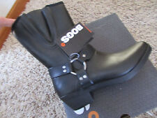 NEW BOGS WATERPROOF BLACK BOOTS WOMENS 7 DAKOTA SHORT 522371 BLACK WATERPROOF