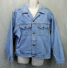 American Eagle Outfitters Denim Jacket Large Blue L Solid X1019