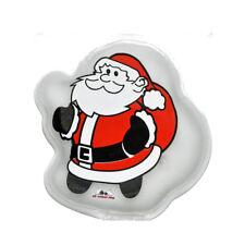 4 x  SANTA Handwärmer Heizpad Weihnachtsmann Nikolaus Design Taschenwärmer