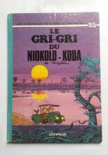 BD - Spirou et fantasio 25 Le gri-gri du Niokolo-Koba / EO 1974 / FOURNIER