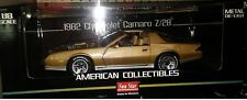 1982 Chevy Camaro Z28 Die-cast Car 1:18 Sunstar 10 inches Gold SS 1930