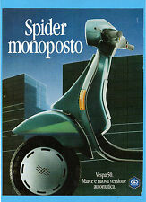 MOTOSPRINT990-PUBBLICITA'/ADVERTISING-1990- VESPA 50 PIAGGIO