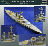 Artist hobby PE 1/700 HMS Iron Duke in WWI (1914-1918) for COMBRIG AH 270001