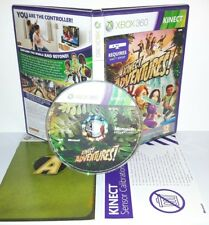 KINECT ADVENTURES - XBox 360 Playstation 2 Ps2 Play Station Gioco Game Sony